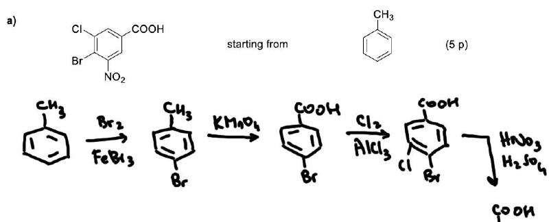 Organic Chemistry Synthesis Problems