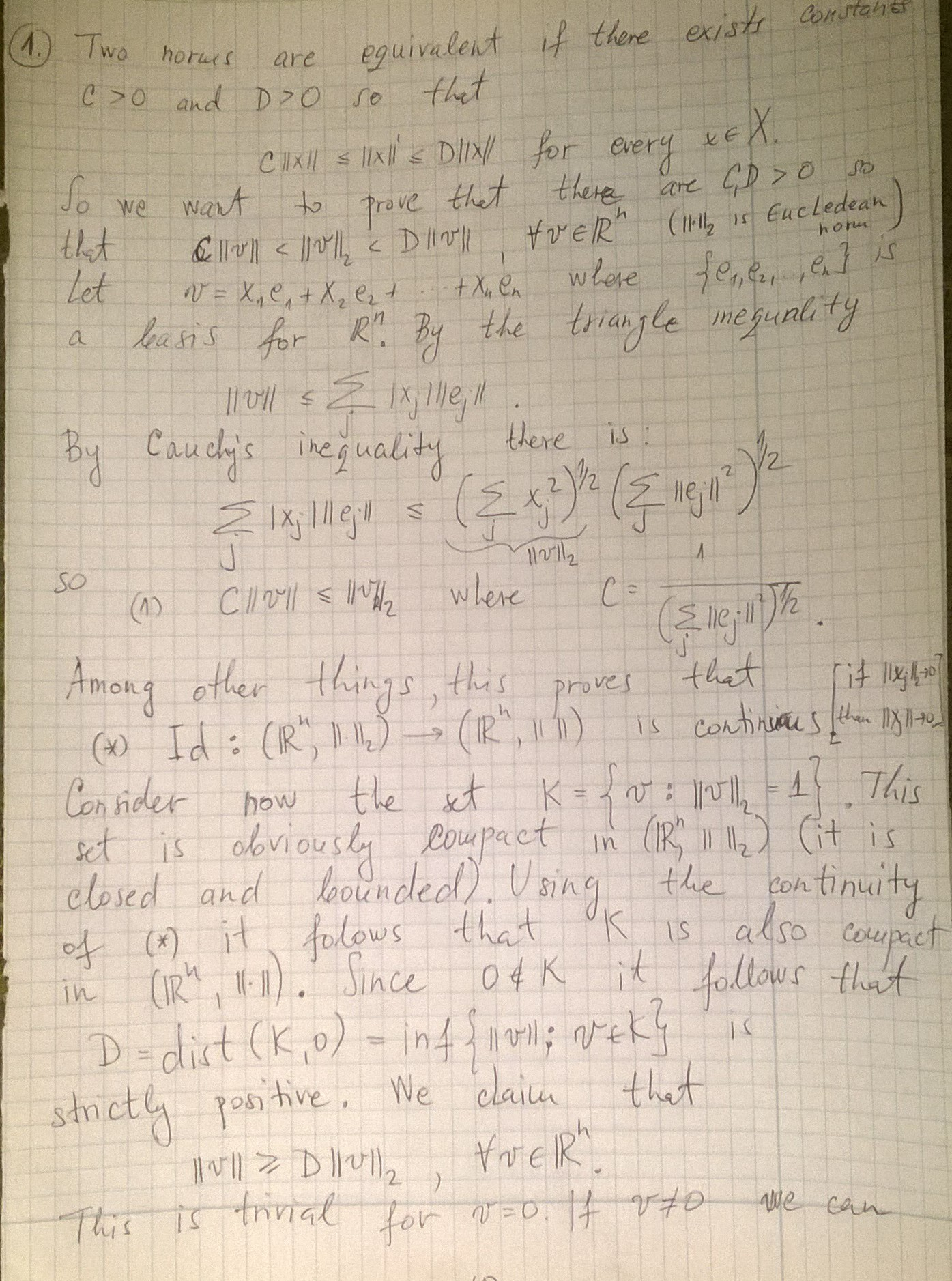 Functional Analysis - Hilbert And Banach Spaces