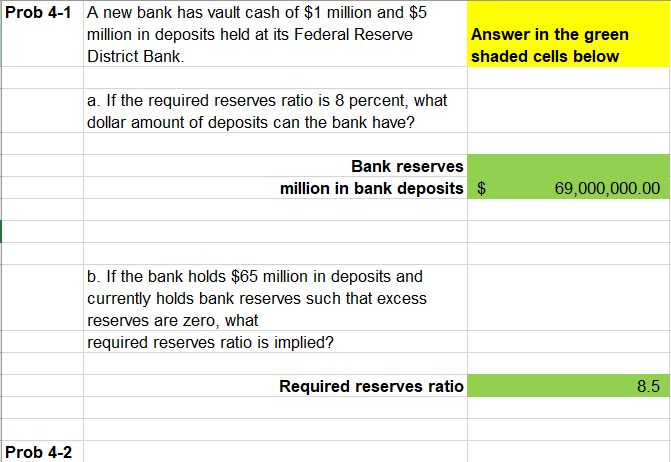 Accounting and Banking Questions