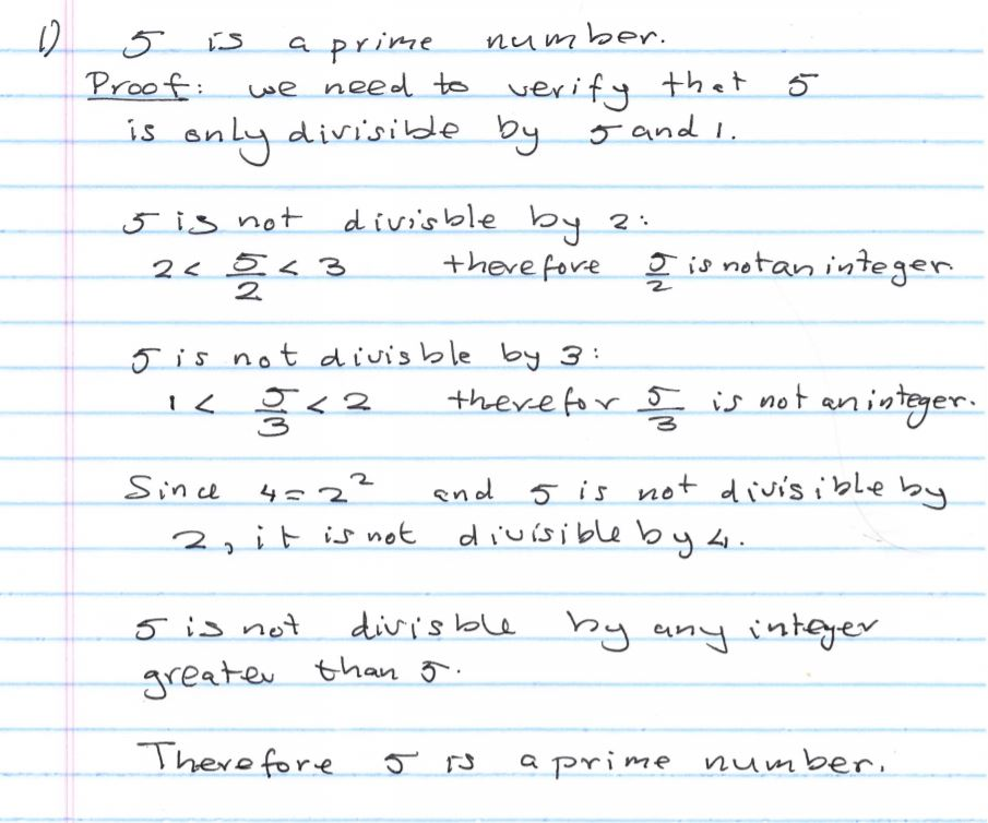 Numerical Proofs