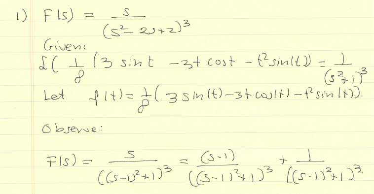Differential Equations Question