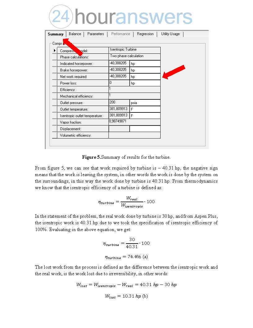 Chemical Engineering Questions - Aspen Plus Modeling Task