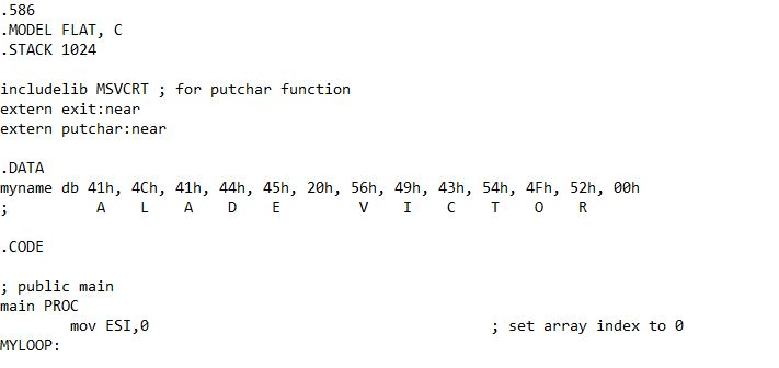 Loops in Assembly Language