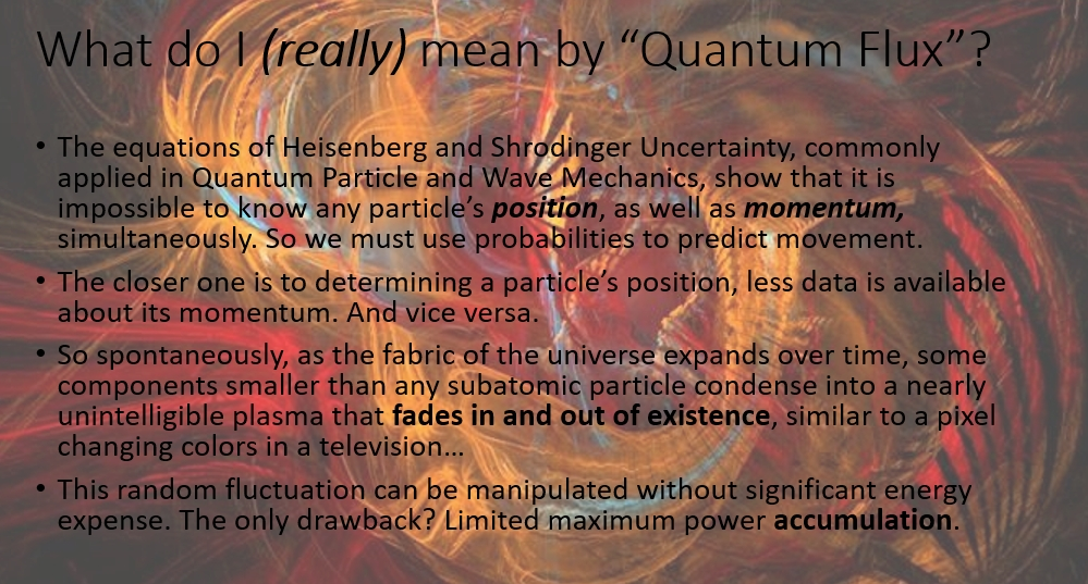 Quantum Space Engine (2435 words and 28 slides)