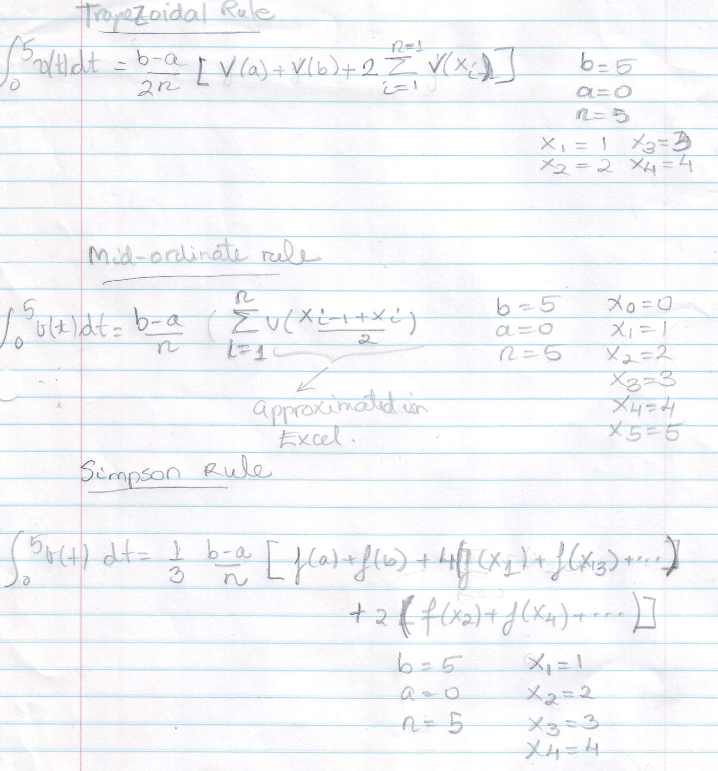 Advanced Mathematics Equations and Their Solutions