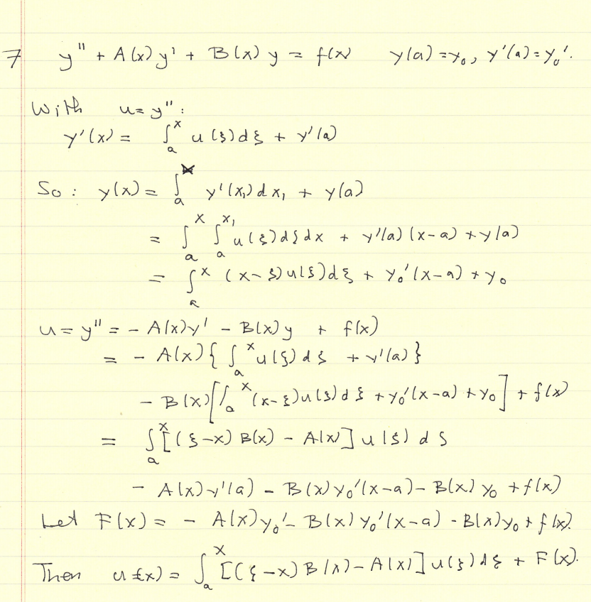 Problems in Methods of Applied Mathematics