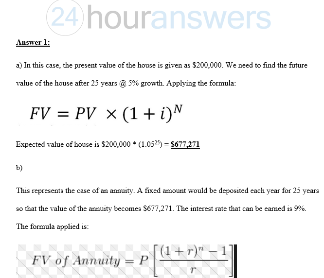 Time Value Of Money Project