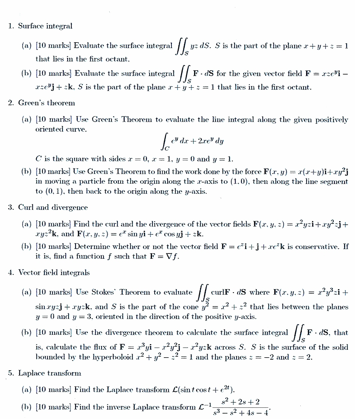 Differential Equations Problems