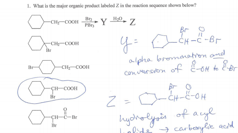 Carboxylic Acids And Their Derivatives Questions