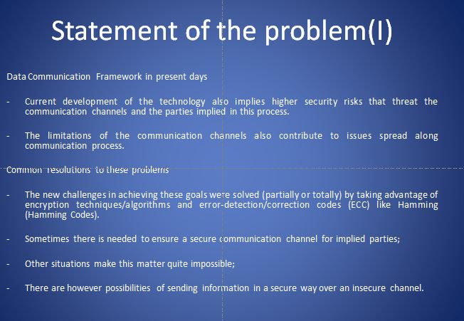 Presentation With Examples of Cryptographic Methods from Network Security (12 slides)