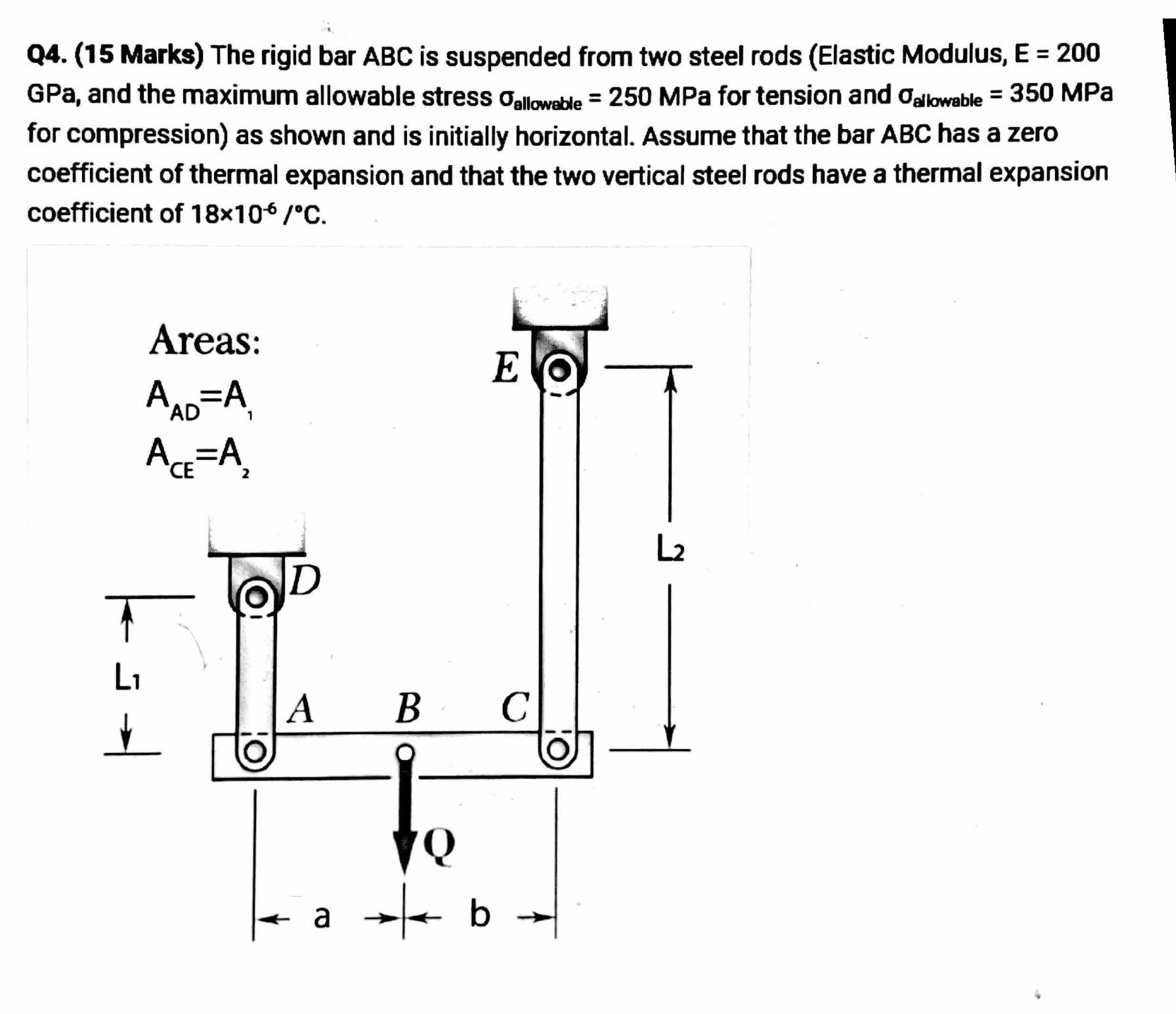 Mechanical Engineering Question