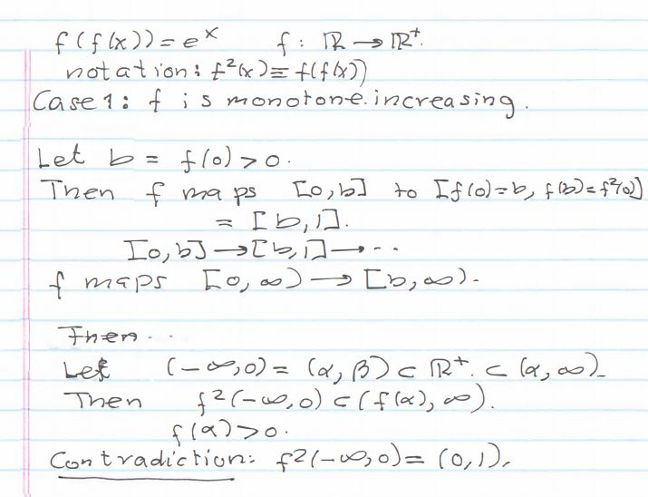 Function Proofs