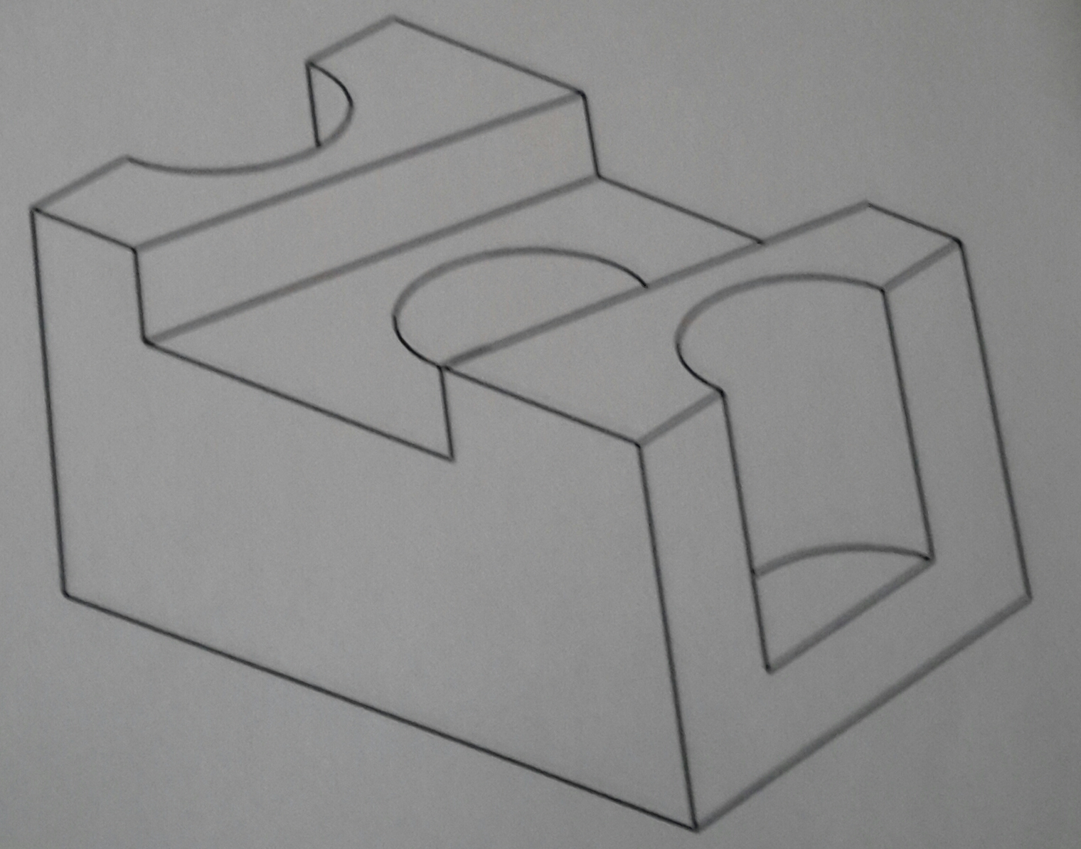 Front Orthogonal Projection