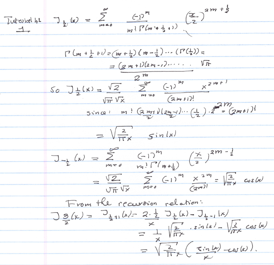 Differential Equation Problems