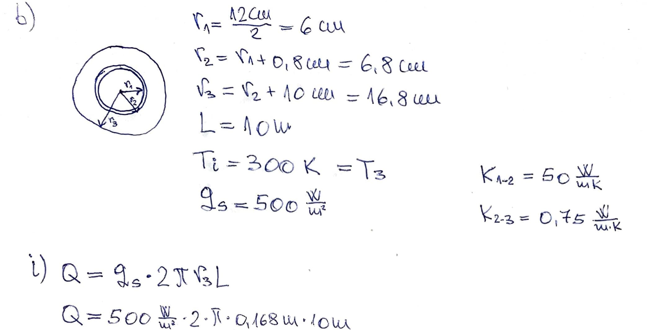 Chemical Engineering: Heat Transfer Question