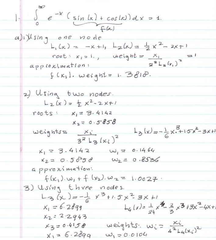 Numerical Methods and Analysis