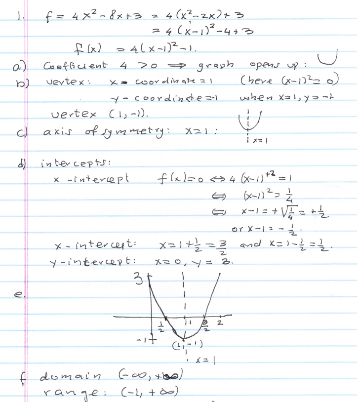 The Analysis of a Function