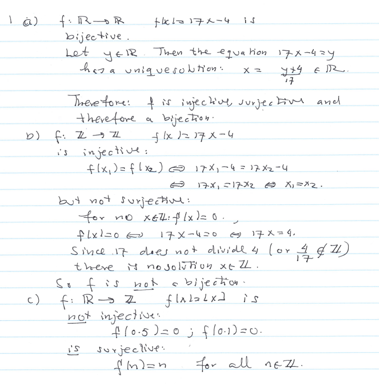 Discrete Math Problems