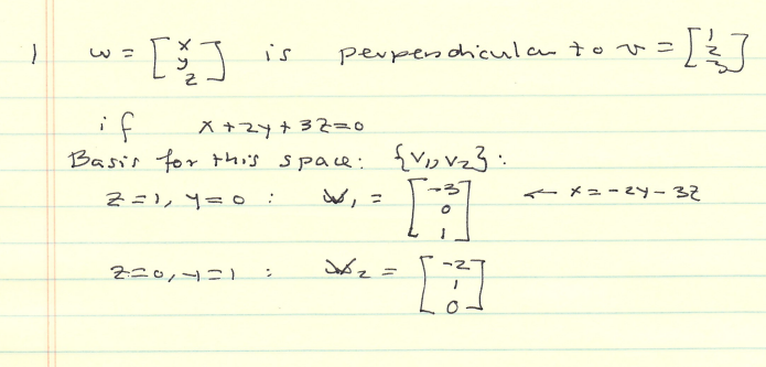 Equations and Matrices