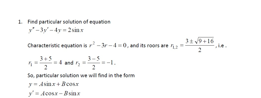 Mathematics - Differential Equations for Engineers