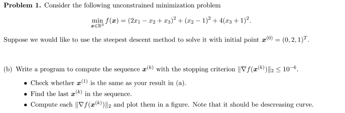 Numerical Analysis Problem