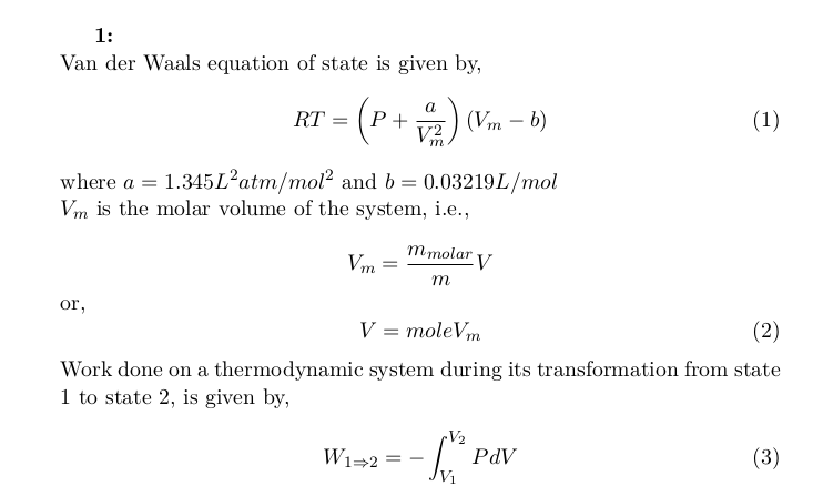 Gaseous State Transfer: Work,  Energy, Equation of the Adiabats