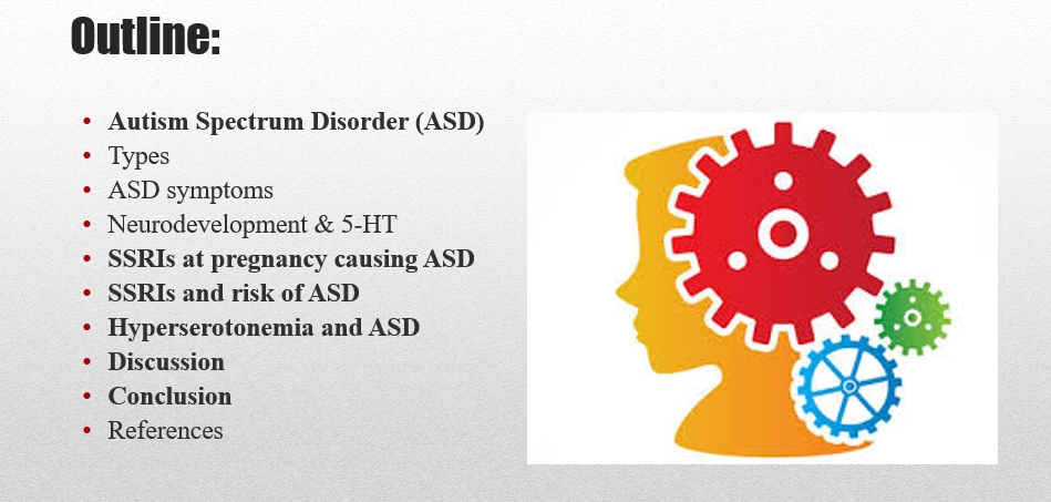 The Risk of Autism Spectrum Disorder in Offspring (13 slides)