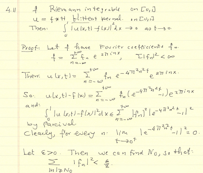 Heat Kernel and Integral Proofs