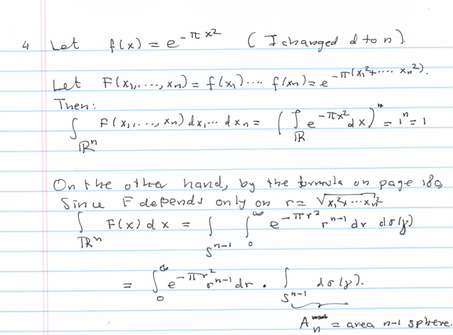 Fourier Transformations Exercise