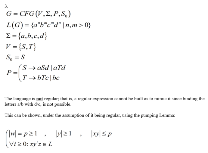 Automation Theory Questions