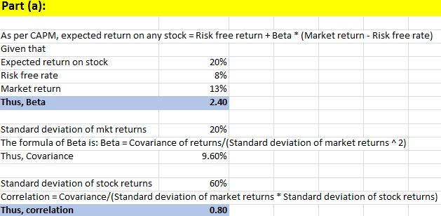 Finance Questions - Value at Risk and Cost of Capital
