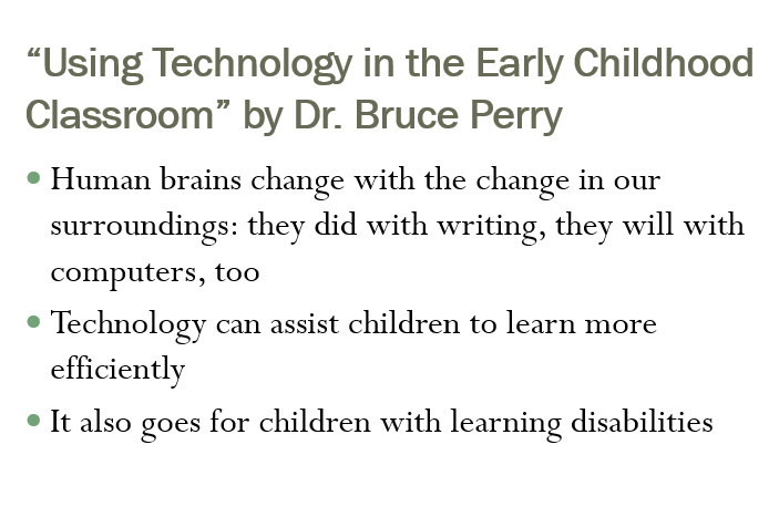 Using Technology in the Early Childhood Classroom - A Review (8 slides)