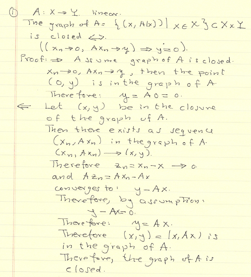 Functional Analysis Problems