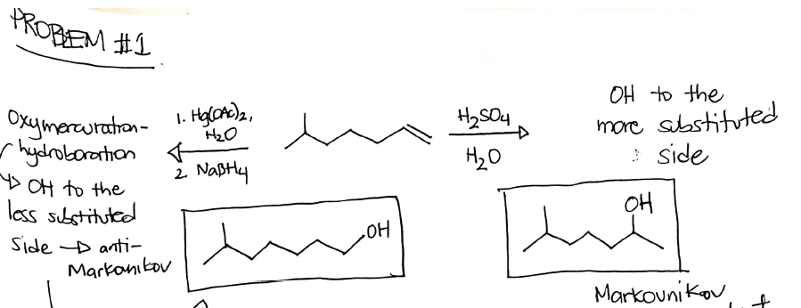 Organic Chemistry Questions - Reactions And Structures