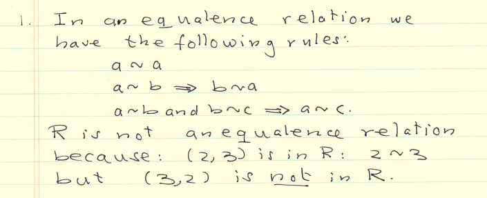 Problems With Relations