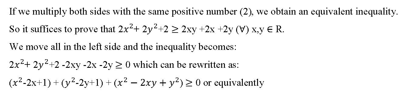 Two Discrete Math Questions Involving Inequalities and Means