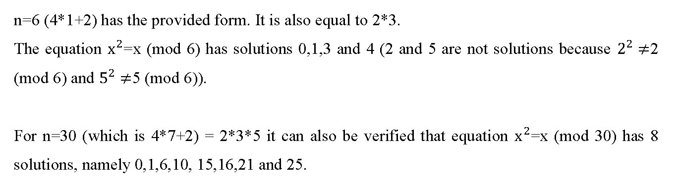 Conjecture Proof about Number of Solutions of a Modular Equation