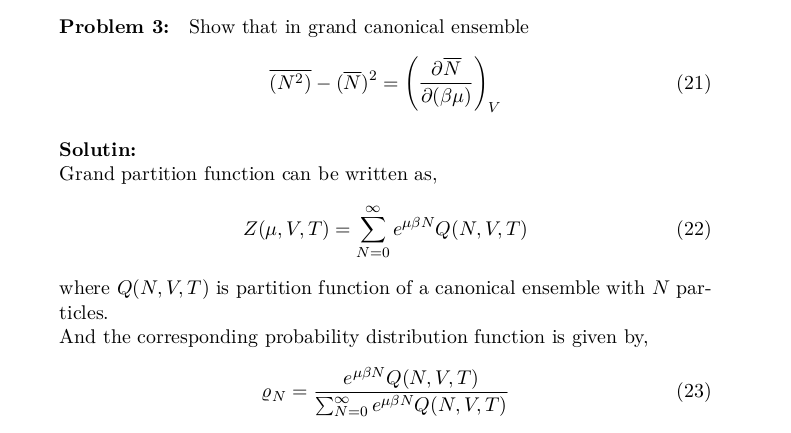 Statistical Mechanics: Ensemble Averages, Expectation Values