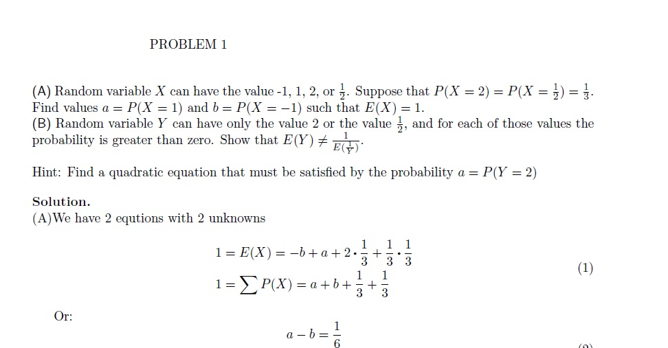 Mathematics Probability Questions