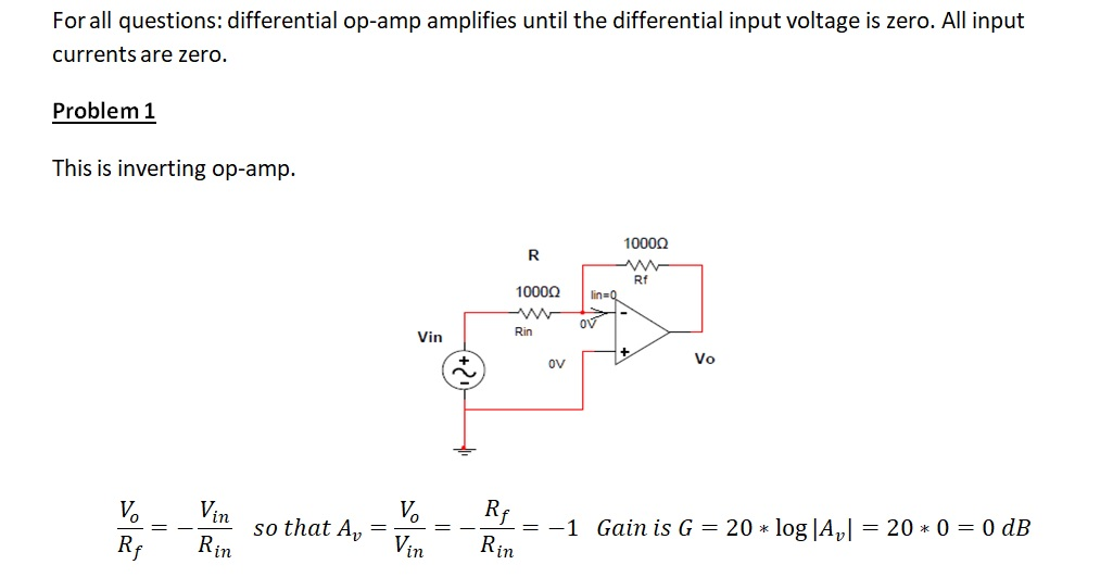 Electronics Op Amp Configurations and Gain