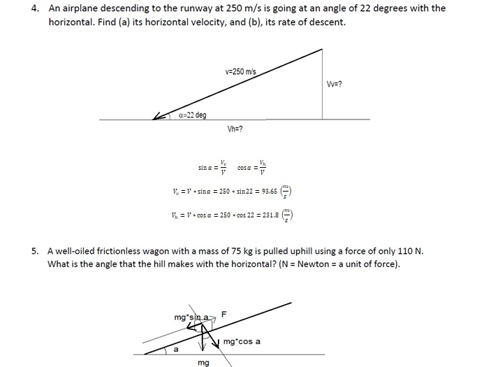 Mechanics Questions